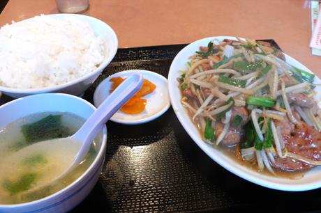 台湾料理の新東洋へ久々に行ってきました