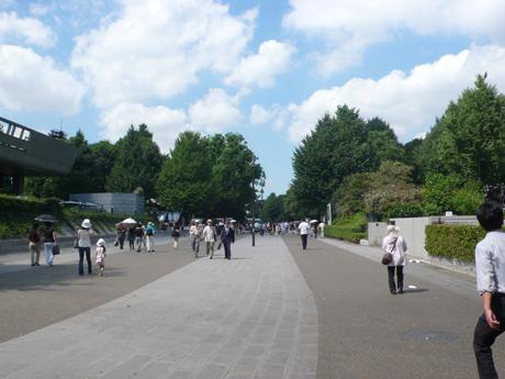 上野公園と山下清