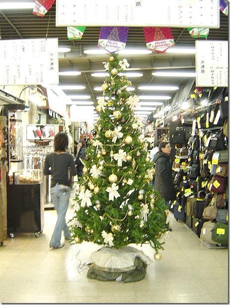 2007年12月24日のアメ横