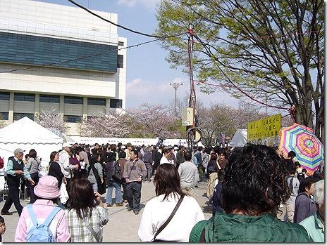 桜橋花まつり2日目も大盛り上がり!