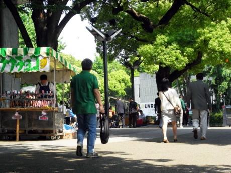 5月9日: 快晴の上野公園の様子レポート!!