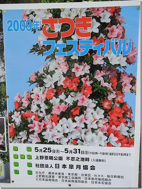 2009さつきフェスティバル 5/25~【上野公園】