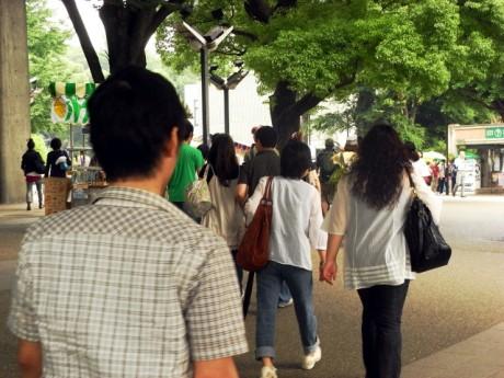 6月13日: ルーヴル美術館展 混雑状況!