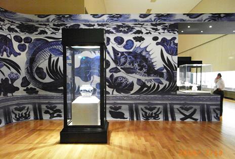 内覧会その2「染付-藍が彩るアジアの器」