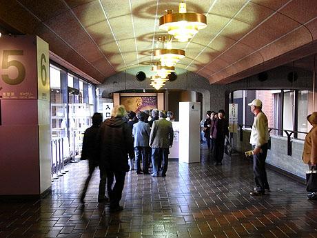冷泉家の入口