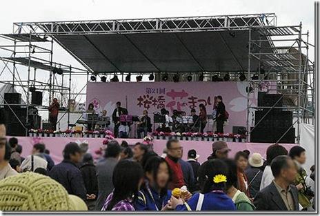 もうすぐ桜橋花まつりだよ!@隅田公園