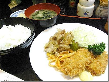 老舗洋食店「ぱいち」でイカフライらんち@浅草