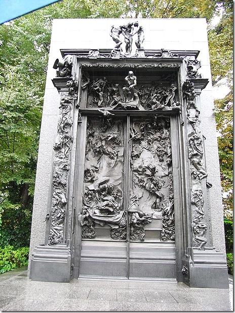 地獄の門・考える人@国立西洋美術館