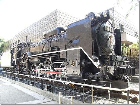 D51形蒸気機関車231号@国立科学博物館