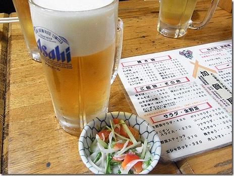 加賀屋でもつ焼きを食べた!@加賀屋 上野広小路店