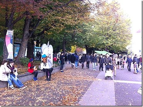 祝日の上野公園、美術館博物館の混雑は?