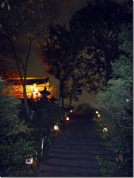 うえの華灯路 浮世絵行燈の夜の様子は?