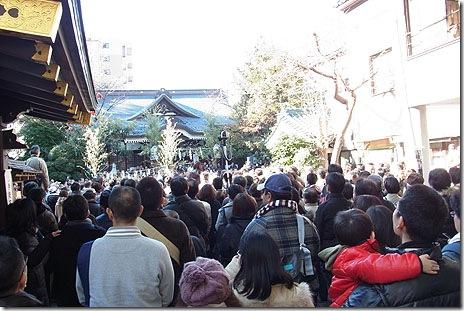 2011年とんど焼きに行ってきた!@鳥越神社
