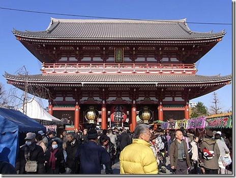 浅草寺針供養会【2011/2/8(火)】