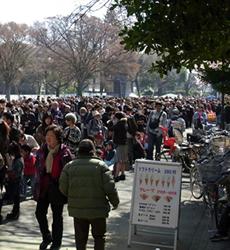 上野動物園 パンダ公開!