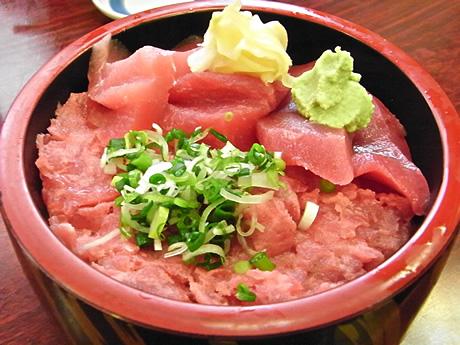 ネギトロにちらしだよ!入谷でお寿司ランチ!