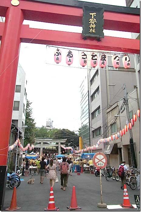 ふるさと祭りに行ってきたよ!下谷神社