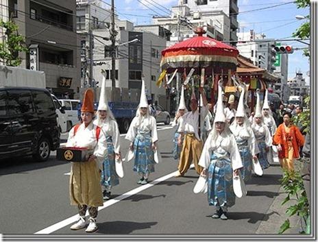 東京時代まつり行列歴史絵巻【2011/11/3(祝)】