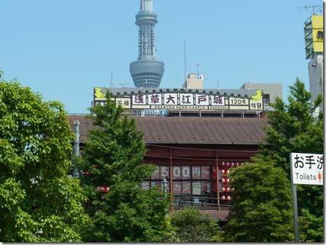 大江戸城が開城していた! 浅草