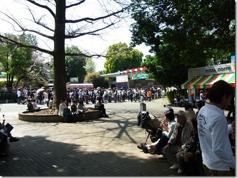 いい天気で行楽日和! 上野公園美術館・博物館 混雑・その他情報