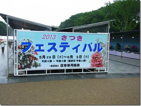 2013さつきフェスティバル【2013年5月29日(水)~6月3日(月)】