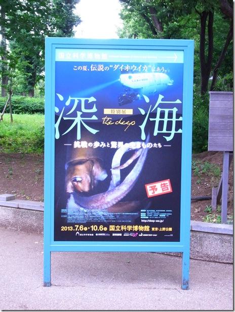 特別展「 深海 -挑戦の歩みと驚異の生きものたち- 」【2013年7月6日(土)~ 10月6日(日)】