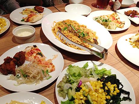 ランチビュッフェ!BARU&DINING GOHAN 上野浅草口店