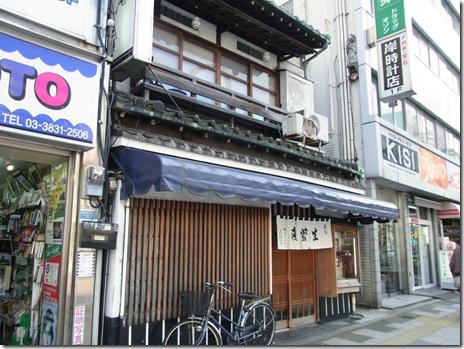 趣ある店構え 老舗の人気そば屋 翁庵 上野