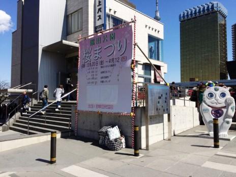 3月24日 まだまだつぼみ状態 隅田公園
