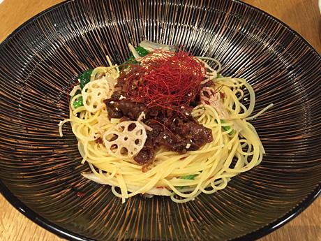 京風・和風から定番パスタまで種類が豊富なパスタモーレ:上野マルイ