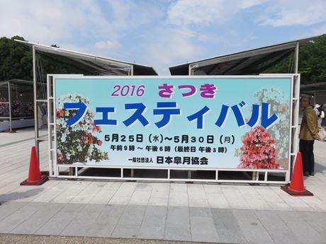 『さつきフェスティバル』に沸く上野公園。 上野公園 美術館・博物館 混雑情報他