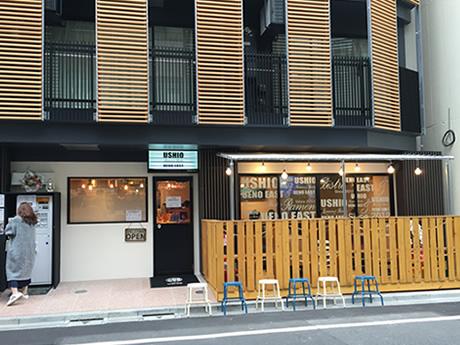 カフェ?と思ったら…Ramen&Bistro ushio ueno east