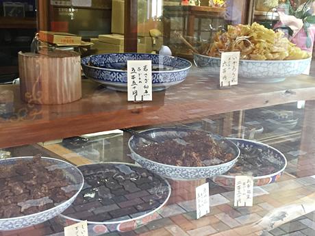 入ってみたかった佃煮屋さん。鮒藤商店 東上野