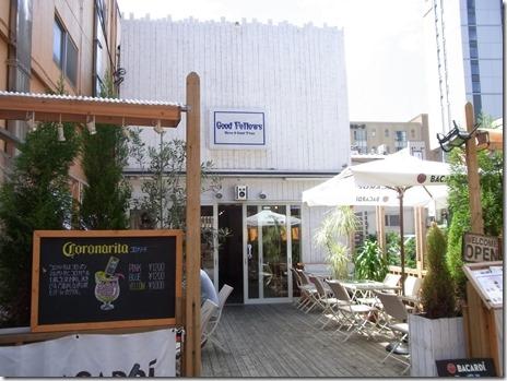 ホッピー通りの60年代アメリカ風カフェ Good Fellows 浅草