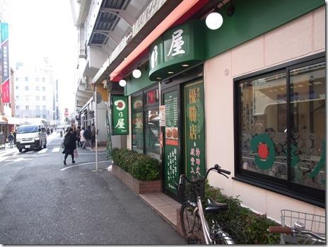 御徒町駅前の日乃屋カレー