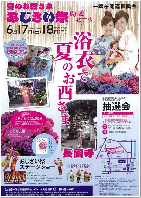 第14回いきいきあじさい祭【2017/6/17~6/18】