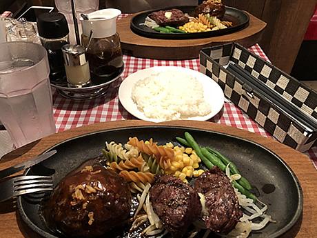 ガッツリ肉食系ランチ!ハンバーグ&ステーキ食堂 KURAUZO