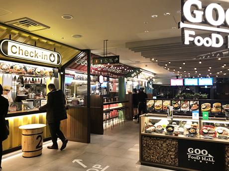 上野マルイ9階にフードホールオープン!GOO FOOD HALL