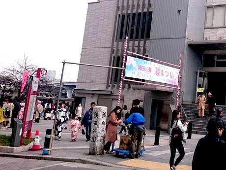 3/26(火)花曇りの隅田公園
