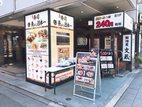 三崎市場直送まぐろを食べる|魚がし日本一 御徒町店