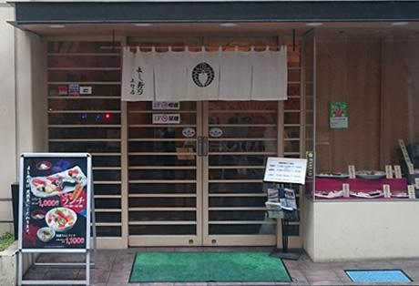 上野駅から徒歩二分「よし寿司」で寿司ランチ♪