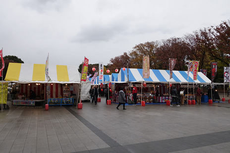 上野公園噴水前にて11月26日(火)より『佐賀・長崎観光物産展』が開催中。 上野公園 美術館・博物館 混雑情報他