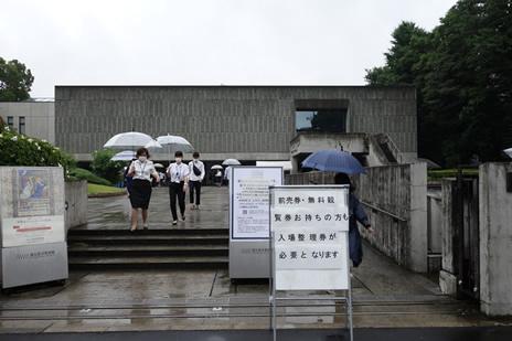 国立西洋美術館にて6/18(木)より『ロンドン・ナショナル・ギャラリー』展が始まりました。 上野公園 美術館・博物館 混雑情報他