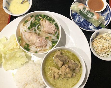 ヘルシーランチならフォーがオススメ♪「ベトナム料理 オールドサイゴン」/御徒町