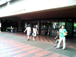 東京都美術館の入り口