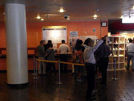 東京都美術館のチケット売り場