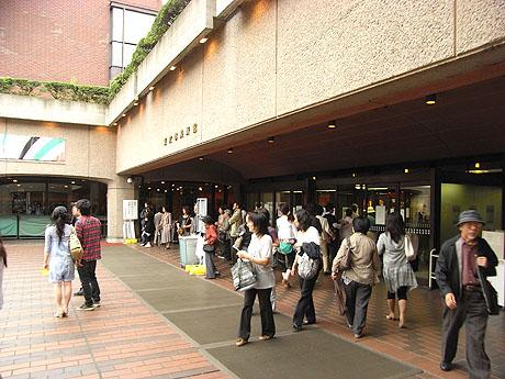 東京都美術館 - 入り口