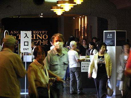 東京都美術館 - トリノ・エジプト展 入り口2